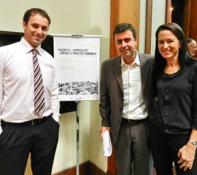With Marcelo Freixo em 05-12-12
